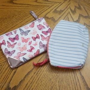 Ipsy Makeup bag set of 2❤